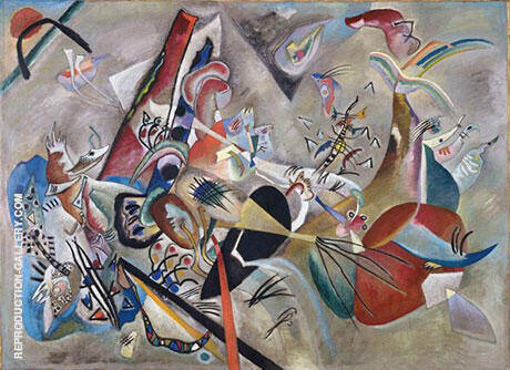 In Gray By Wassily Kandinsky - Oil Paintings & Art Reproductions - Reproduction Gallery