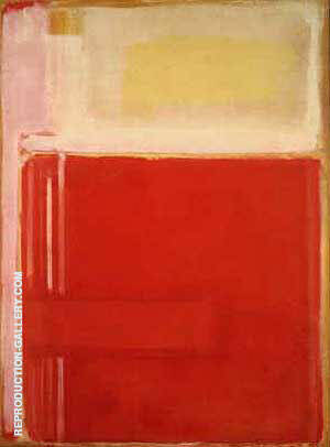 No 8 Multiform 1949 By Mark Rothko