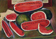 The Watermelons 1957 By Diego Rivera