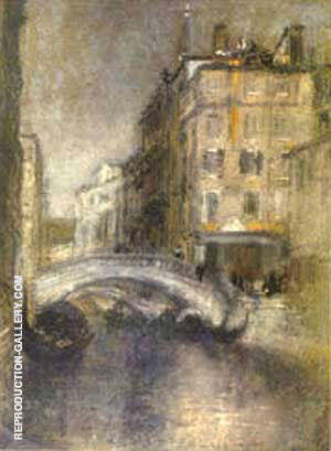 Venice Painting By James McNeill Whistler - Reproduction Gallery