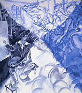 The Apparition By Marc Chagall