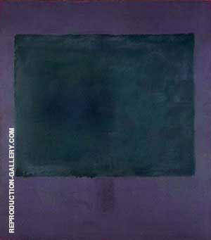 Green on Maroon 1961 Painting By Mark Rothko - Reproduction Gallery