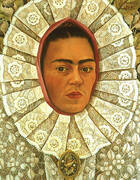 Self Portrait 1948 By Frida Kahlo