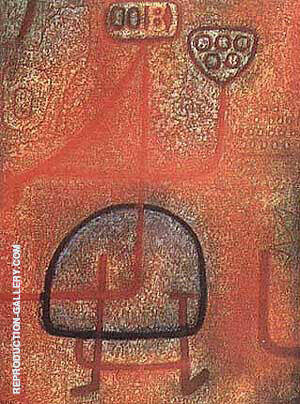 La Belle Jardiniere By Paul Klee Replica Paintings on Canvas - Reproduction Gallery
