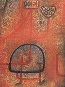 La Belle Jardiniere By Paul Klee
