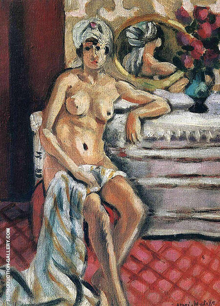 Nu Au Turban Henriette Painting By Henri Matisse - Reproduction Gallery