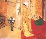 Nude in a White Turban By Henri Matisse