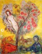 La Branche 1976 By Marc Chagall