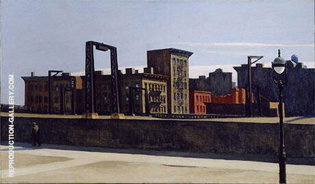 Manhattan Bridge Loop 1928 Painting By Edward Hopper