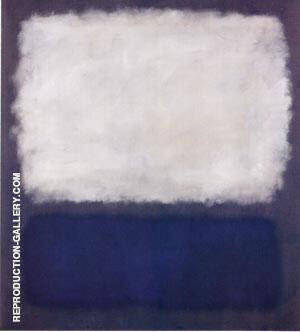 Blue and Gray 1962 Painting By Mark Rothko - Reproduction Gallery