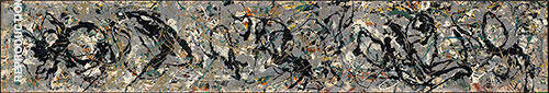 Number 10, 1949 Painting By Jackson Pollock - Reproduction Gallery
