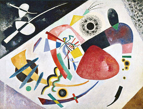 Red Spot II 1921 By Wassily Kandinsky - Oil Paintings & Art Reproductions - Reproduction Gallery
