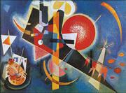 In Blue 1925 By Wassily Kandinsky