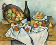 Still Life Basket of Apples By Paul Cezanne