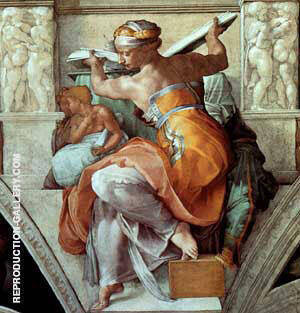 The Libyan Sybil Painting By Michelangelo - Reproduction Gallery