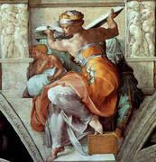 The Libyan Sybil By Michelangelo