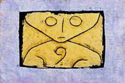Letter Ghost By Paul Klee