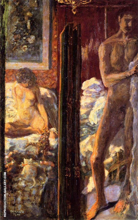 Reproduction of Man and Woman 1900 by Pierre Bonnard | Oil Painting Replica On CanvasReproduction Gallery