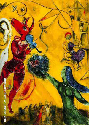 La Danse 1950 By Marc Chagall