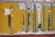 Subway 1937 By Mark Rothko (Inspired By)