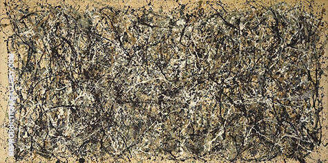Number 31, 1950 By Jackson Pollock (Inspired By)