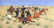 Rounded-Up 1901 By Frederic Remington