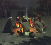 Apache Medicine Song By Frederic Remington
