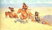 Buffalo Runners-Big Horm Basin 1909 By Frederic Remington