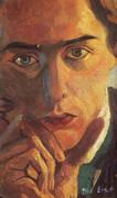 self portrait 1909 By Max Ernst