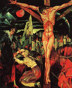 Crucifixion, 1913 By Max Ernst
