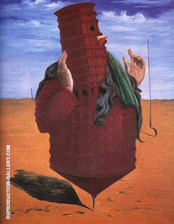 Ubu Imperator, 1924 Painting By Max Ernst - Reproduction Gallery