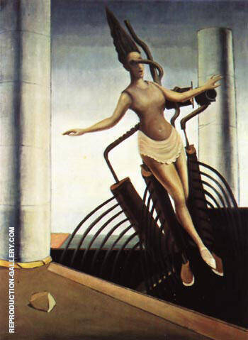 The Equivocal Women, 1923 By Max Ernst - Oil Paintings & Art Reproductions - Reproduction Gallery