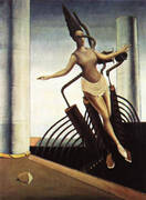 The Equivocal Women, 1923 By Max Ernst