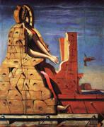 St. Cecilia The Invisible Piano 1923 By Max Ernst