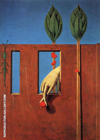 At the First Clear Word, 1923 Painting By Max Ernst - Reproduction Gallery