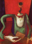 M Portrait, or The Letter, 1924 By Max Ernst