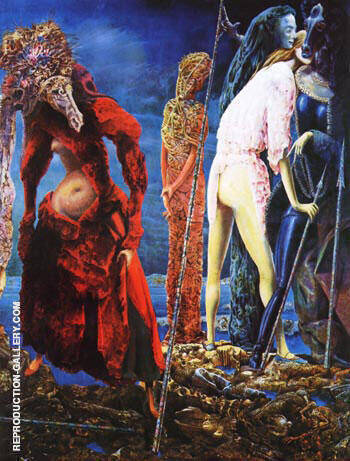 The Antipope, 1941 Painting By Max Ernst - Reproduction Gallery