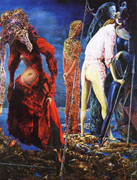 The Antipope, 1941 By Max Ernst