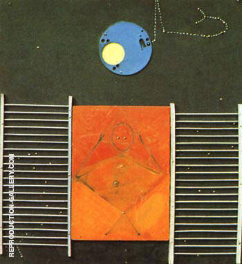 The Great Ignoramus, 1965 Painting By Max Ernst - Reproduction Gallery