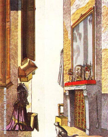 Everyday Life By Max Ernst - Oil Paintings & Art Reproductions - Reproduction Gallery