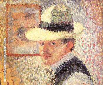 Self-Portrait 1902 Painting By Hans Hofmann - Reproduction Gallery