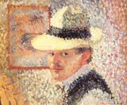 Self-Portrait 1902 By Hans Hofmann