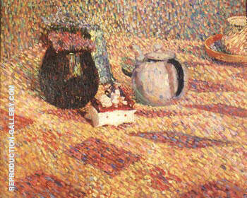 Untitled Still Life 1902 Painting By Hans Hofmann - Reproduction Gallery