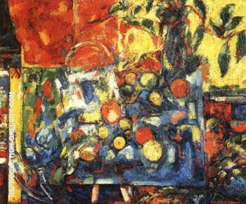 Apples, 1932 By Hans Hofmann