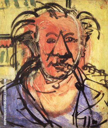 Self-Portrait l, 1942 By Hans Hofmann - Oil Paintings & Art Reproductions - Reproduction Gallery