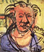 Self-Portrait l, 1942 By Hans Hofmann
