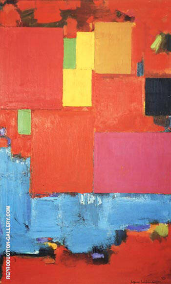 Pompeii, 1959 By Hans Hofmann - Oil Paintings & Art Reproductions - Reproduction Gallery