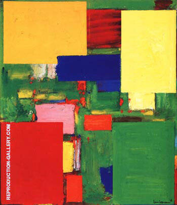 Reproduction of Equipoise, 1958 by Hans Hofmann | Oil Painting Replica On CanvasReproduction Gallery