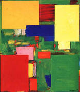 Equipoise, 1958 By Hans Hofmann