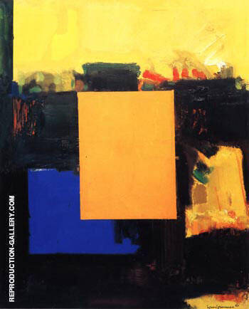 Ora Pro Nobis, 1964 By Hans Hofmann - Oil Paintings & Art Reproductions - Reproduction Gallery